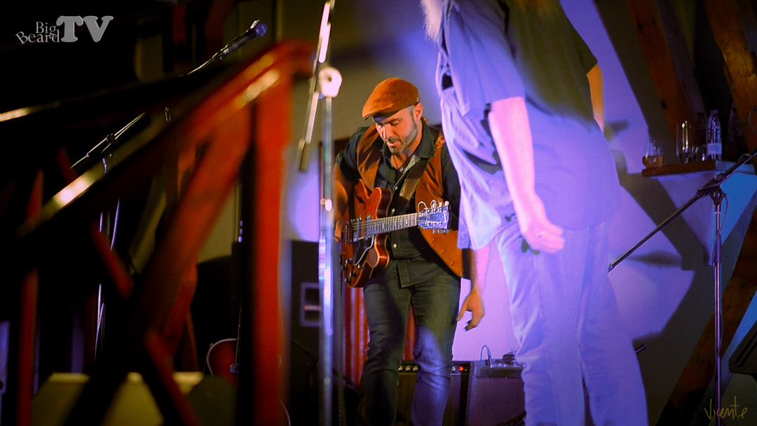 15 octubre 2019 John Duer & TheBluesFreaks, Villafranca de los Barros - John Duer & The Blues Freaks