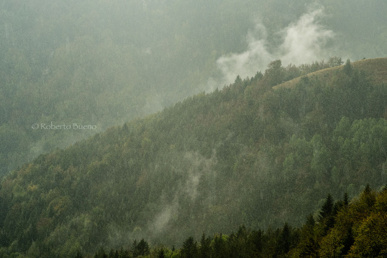 Primera lluvia de otoño. Añisclo - Luces del Planeta - Luces del Planeta - Roberto Bueno – Fotografía de Naturaleza
