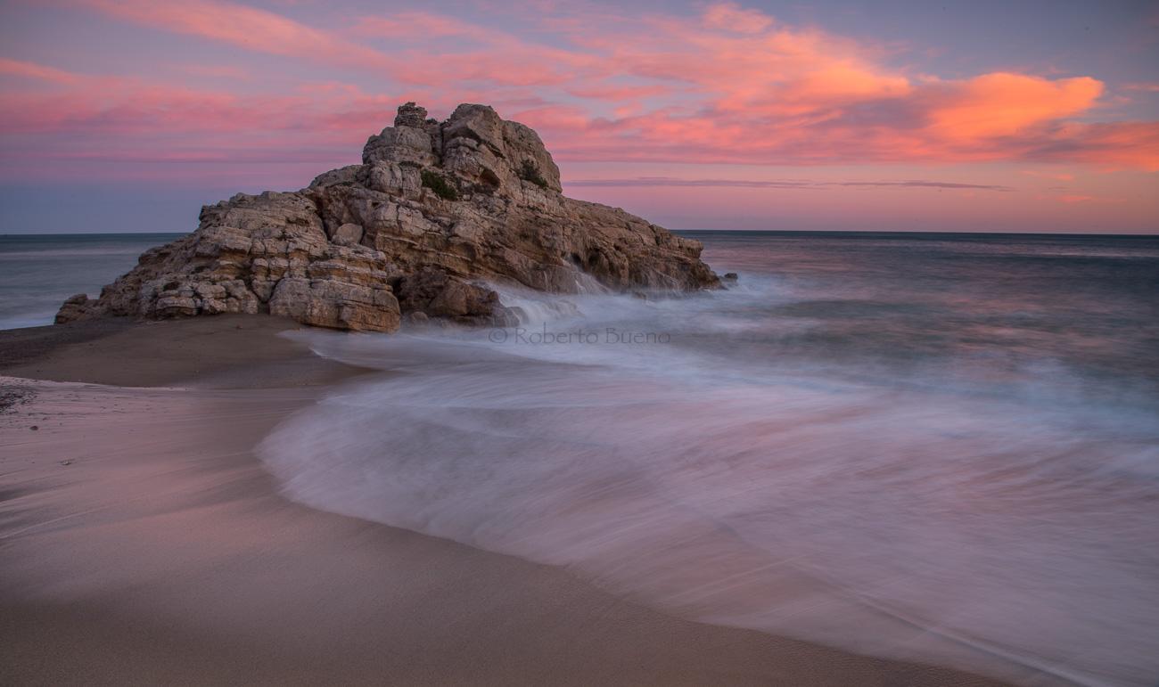 Cel, roca i mar. Playa  de El Torn - L´Hospitalet-Vandellòs - L´Hospitalet de l´Infant - Vandellòs; Roberto Bueno; Fotografía
