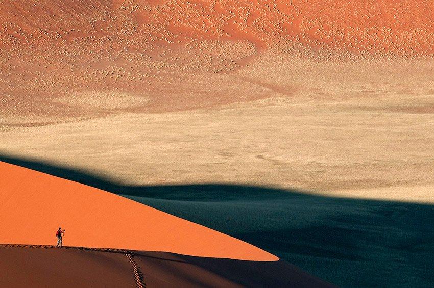 Arista de luz y arena. Desierto del Namib - África - Roberto Bueno. Fotografías de Tanzania y Namibia. África