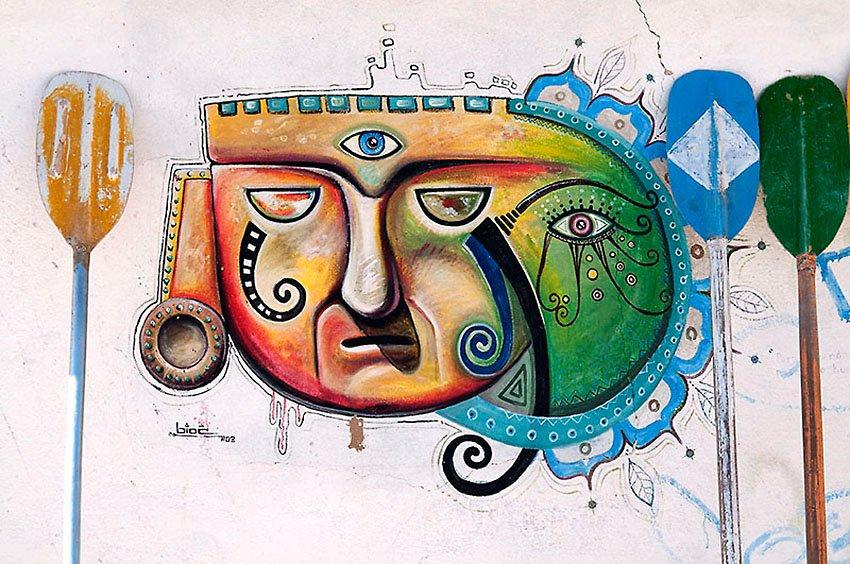 Grafitti en Copacabana. Bolivia - Perú - Perú - Roberto Bueno – Paisajes, gentes, arqueología