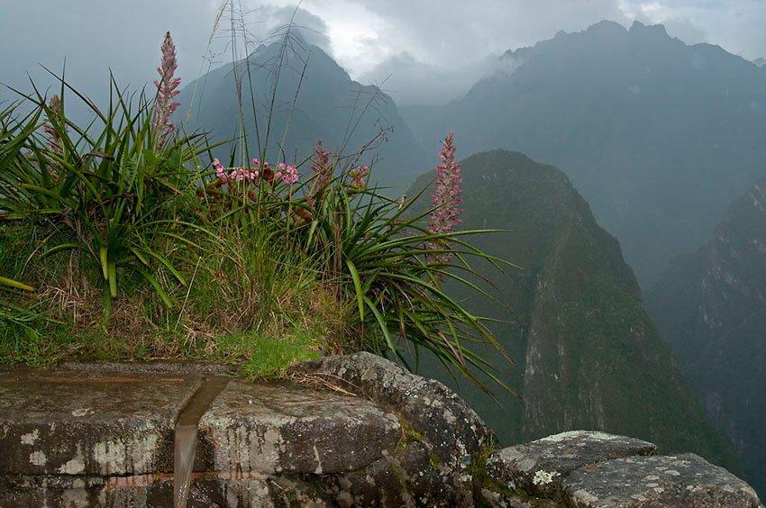 Fuente inca. El cuadro de Félix. Machu Picchu - Perú - Perú - Roberto Bueno – Paisajes, gentes, arqueología