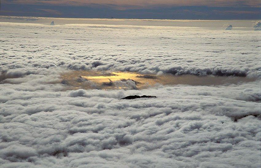 Mar de nubes desde el Teide - Estar en las nubes - Nubes - Roberto Bueno – Meteorología, atmósfera