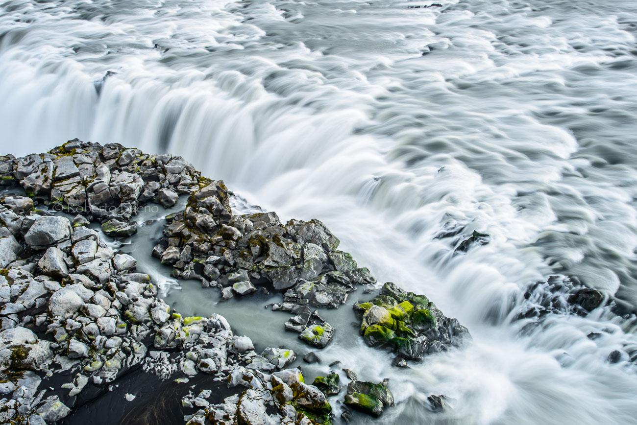 Verde Dettifoss - Islandia - Islandia