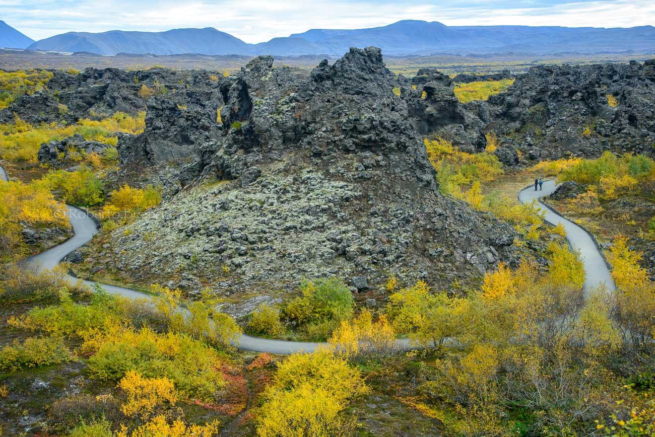 Sendero magmático - Islandia - Islandia