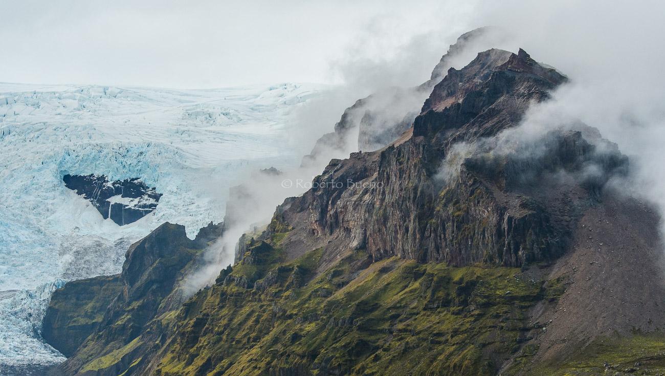 Glaciar Kviarjökull - Islandia - Islandia
