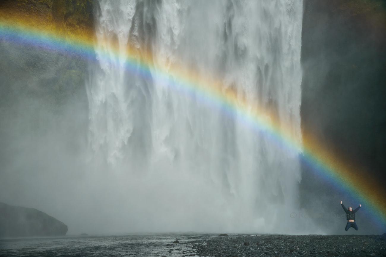 Saltar de emoción - Islandia - Islandia