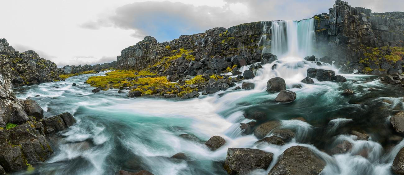 El río de la gran falla - Islandia - Islandia