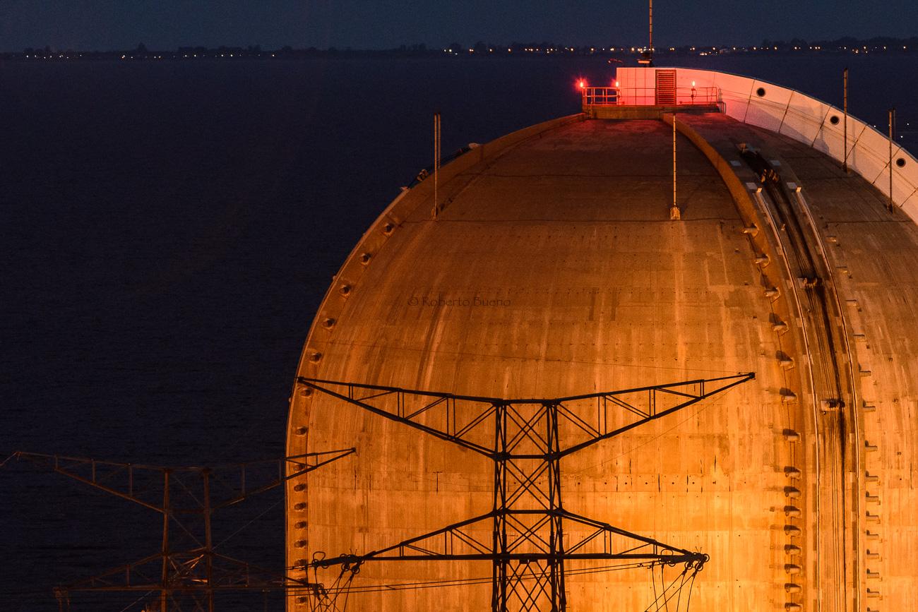 La Cúpula naranja. Central Nuclear Vandellòs II - Energía Nuclear - Roberto Bueno. Energía Nuclear y Centrales Nucleares