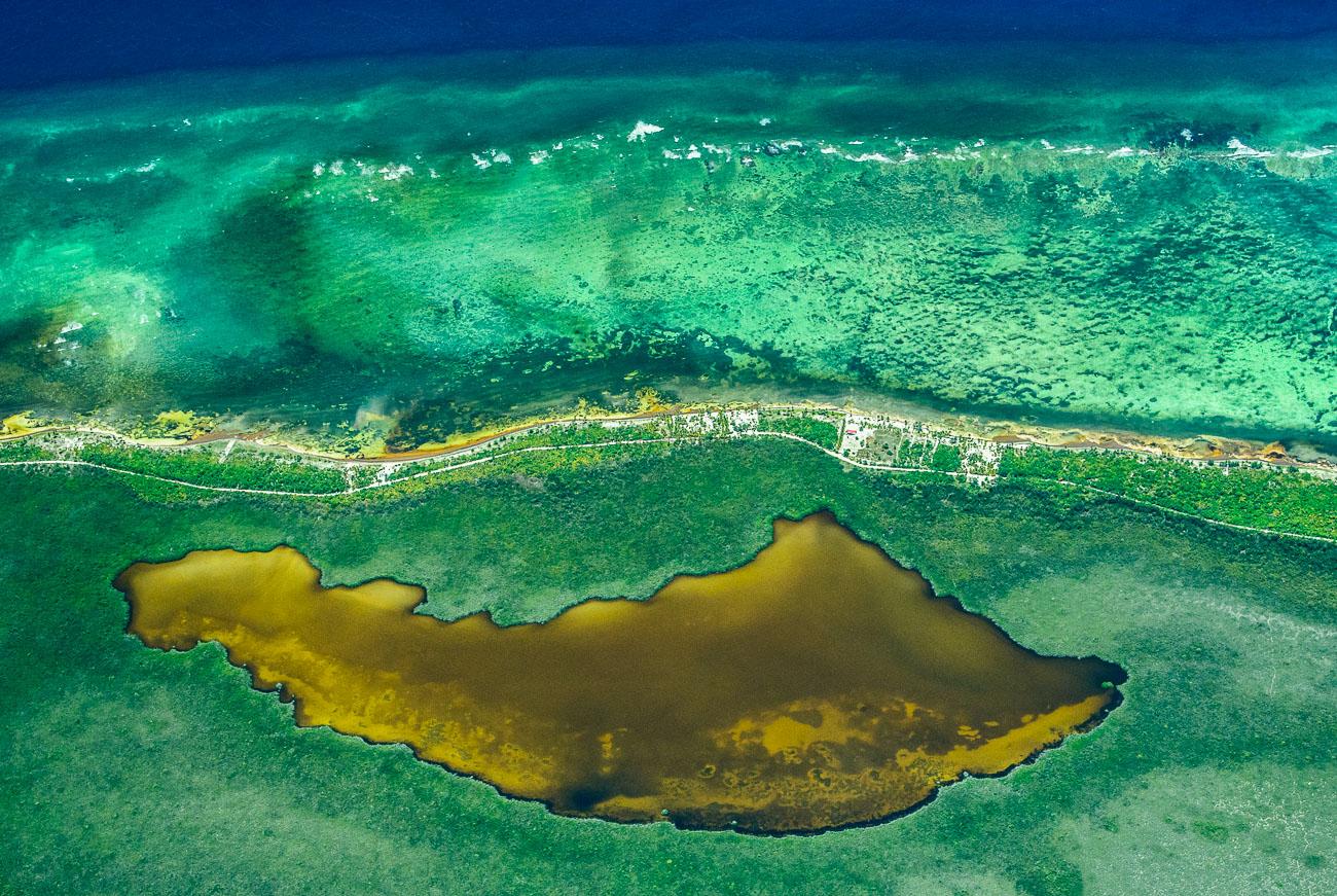 Caribe - Desde el aire - Roberto Bueno - Fotografía de Naturaleza - Luces del Planeta - Desde el aire