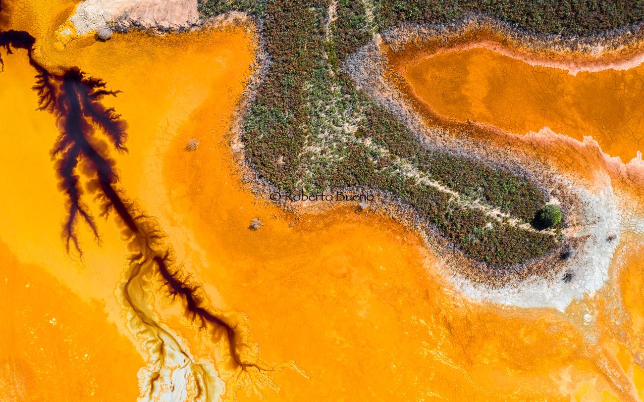 El calcetín verde - Desde el aire - Roberto Bueno - Fotografía de Naturaleza - Luces del Planeta - Desde el aire
