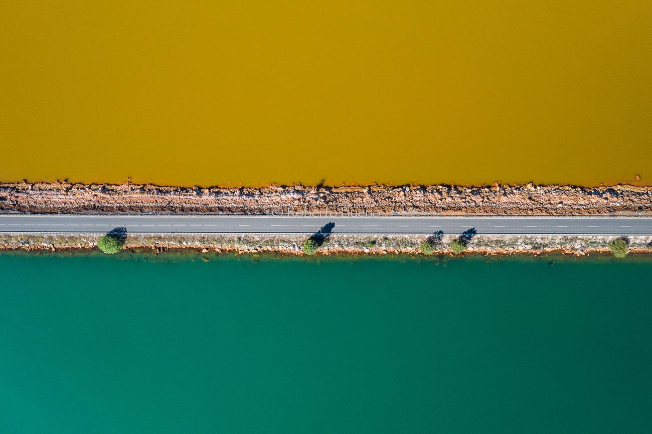 Divisoria de la vida - Desde el aire - Roberto Bueno - Fotografía de Naturaleza - Luces del Planeta - Desde el aire