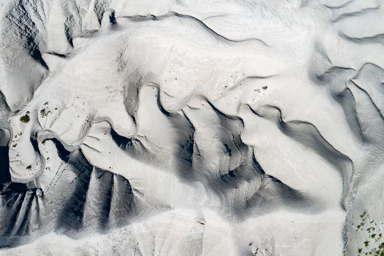 Badlands - Desde el aire - Roberto Bueno - Fotografía de Naturaleza - Luces del Planeta - Desde el aire