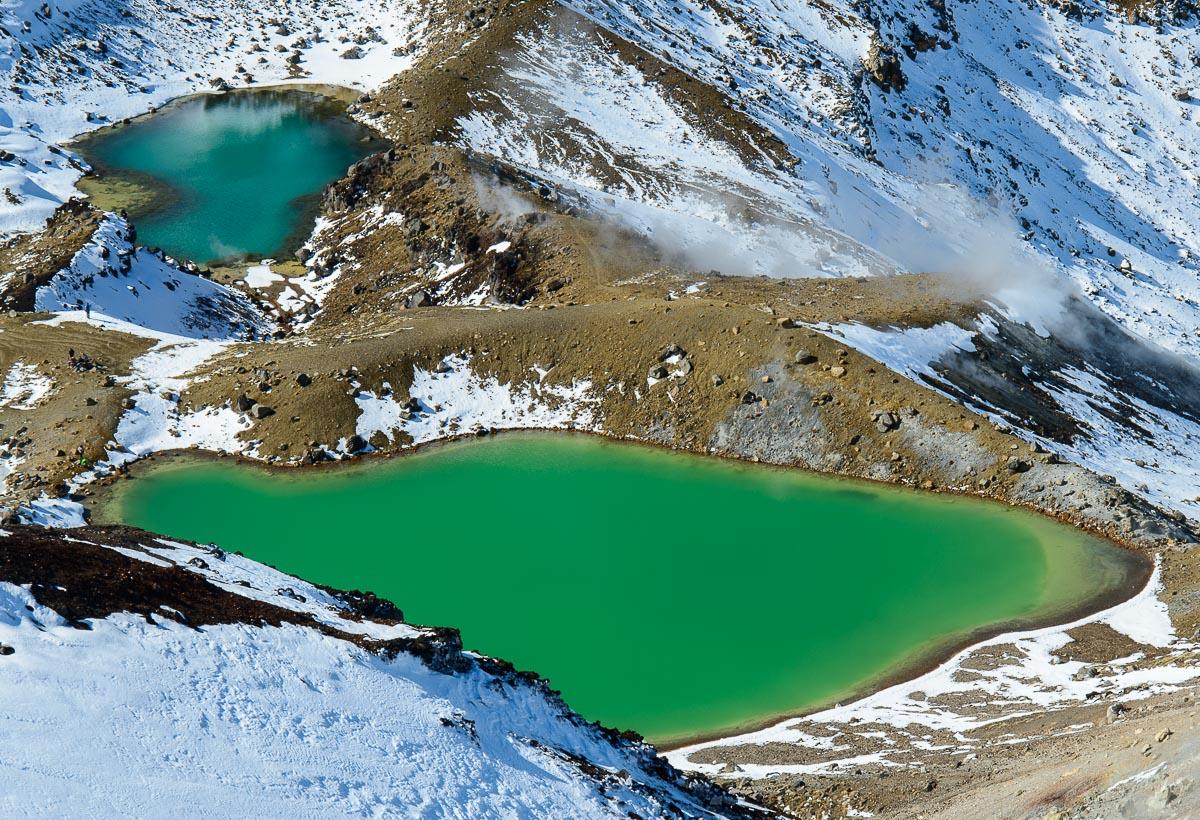 Emerald Lakes, Parque Nacional Tongariro - Nueva Zelanda - Nueva Zelanda, Isla Norte. Roberto Bueno; Fotografía de Naturaleza y Viajes