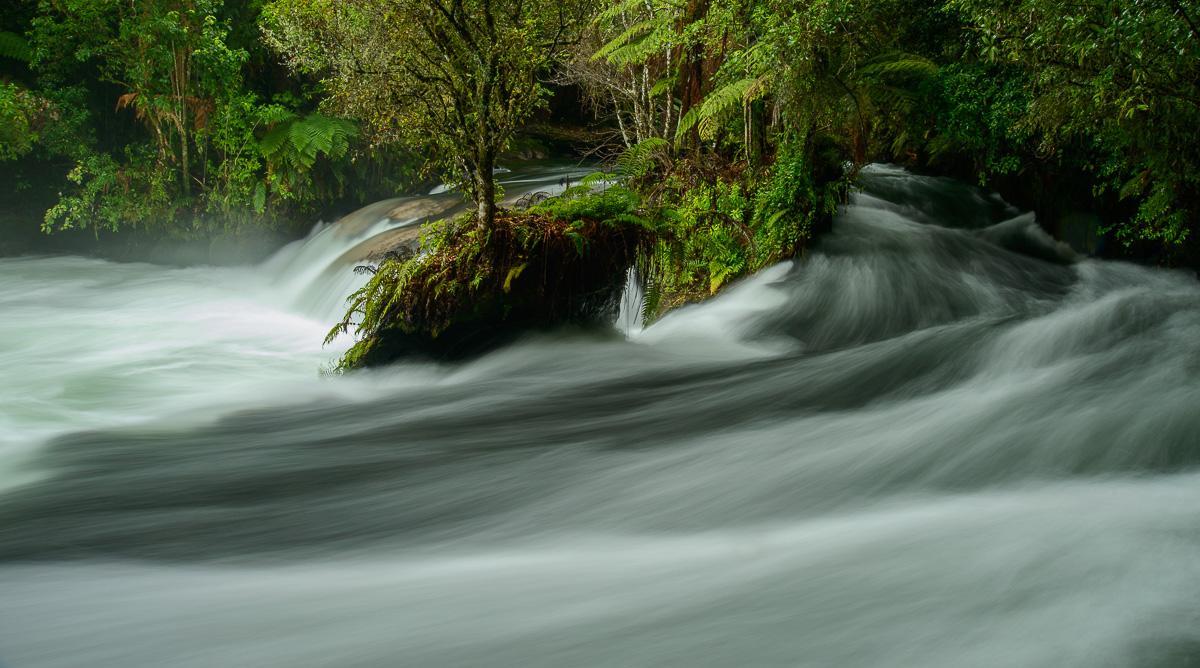 Río Okere, Rotorua, Bay of Plenty - Nueva Zelanda - Nueva Zelanda, Isla Norte. Roberto Bueno; Fotografía de Naturaleza y Viajes