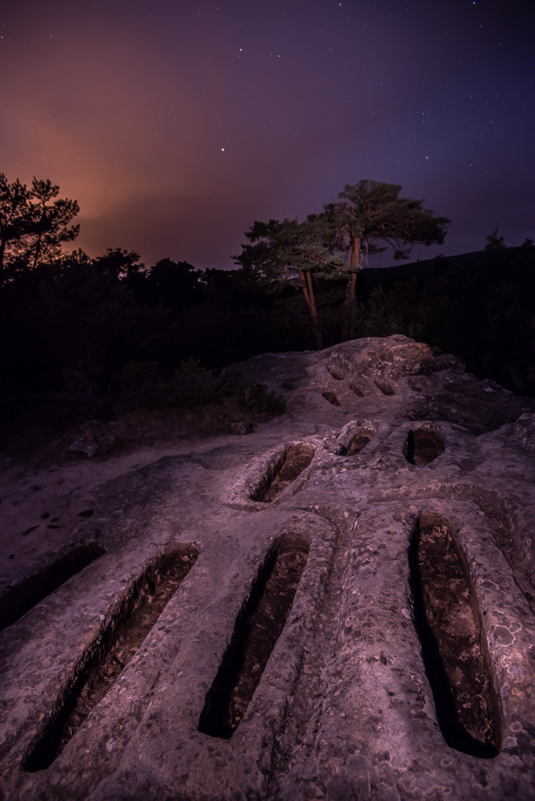Se fueron con la noche  - Luces en la noche - Luces en la Noche. Roberto Bueno. Fotografía de Naturaleza y viajes