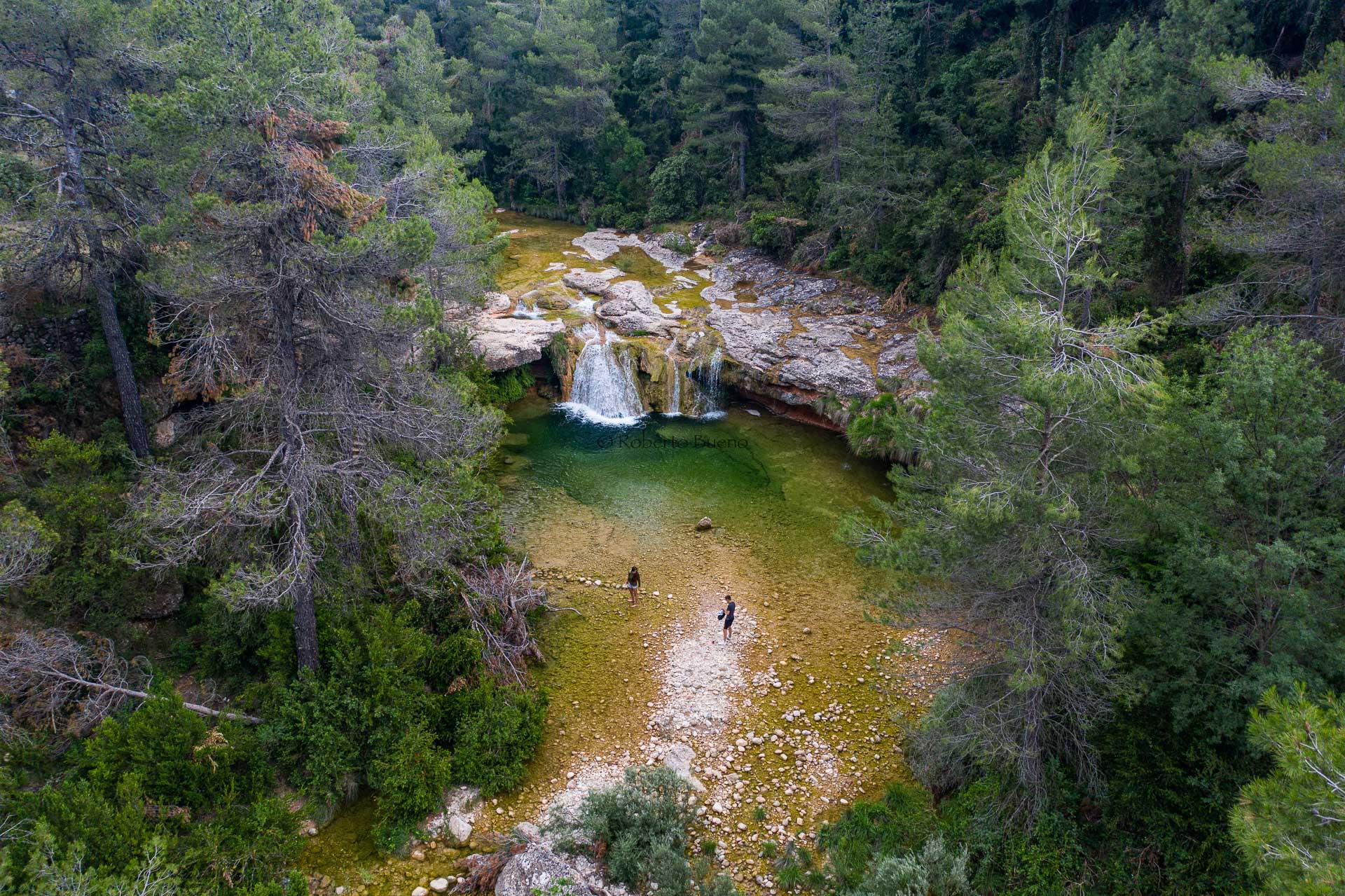 Toll del Vidre. Arnes. Els Ports. Tarragona - Desde el aire 2 - Roberto Bueno - Fotografía de Naturaleza - Luces del Planeta - Desde el aire
