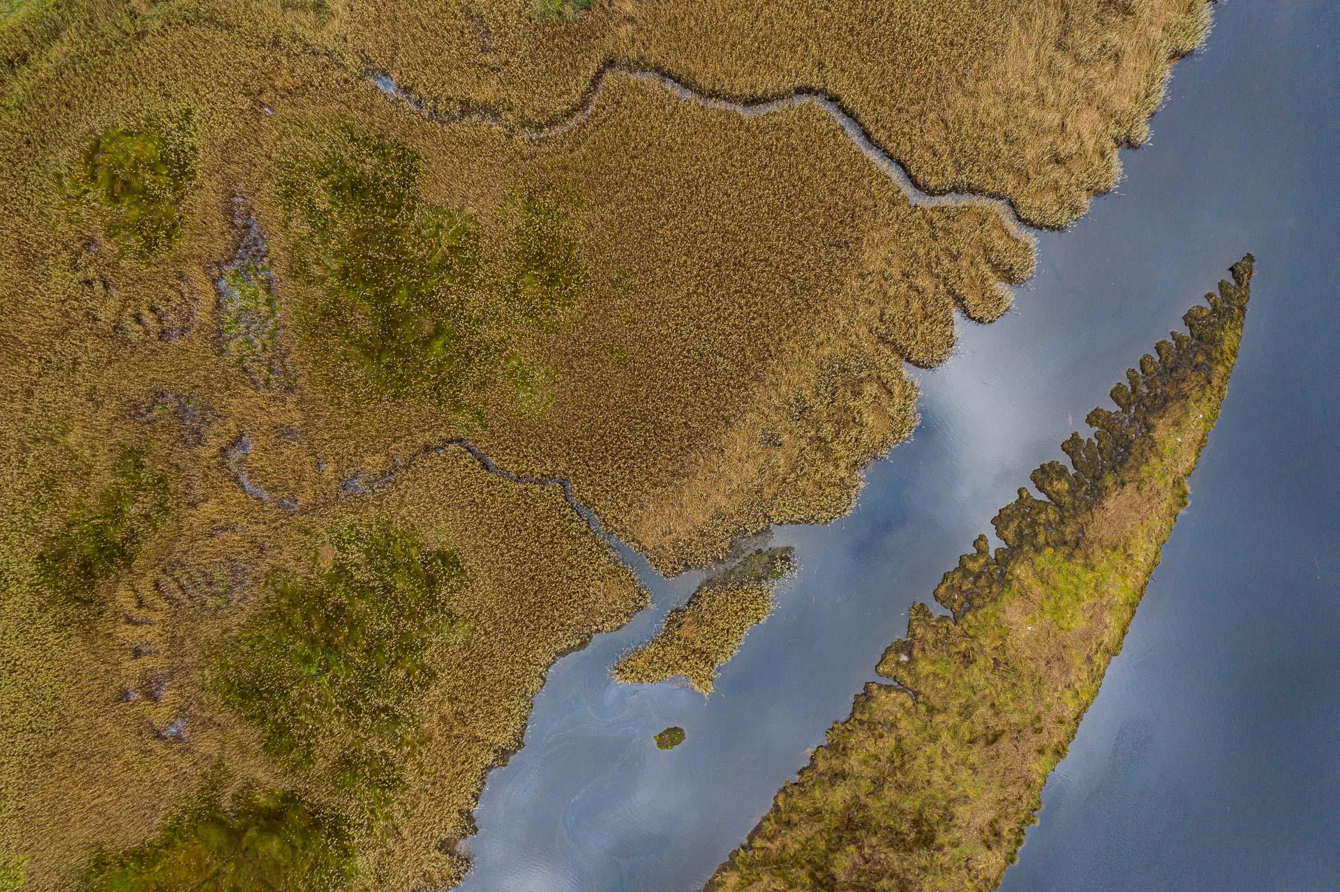 Marismas  - Desde el aire 2 - Roberto Bueno - Fotografía de Naturaleza - Luces del Planeta - Desde el aire