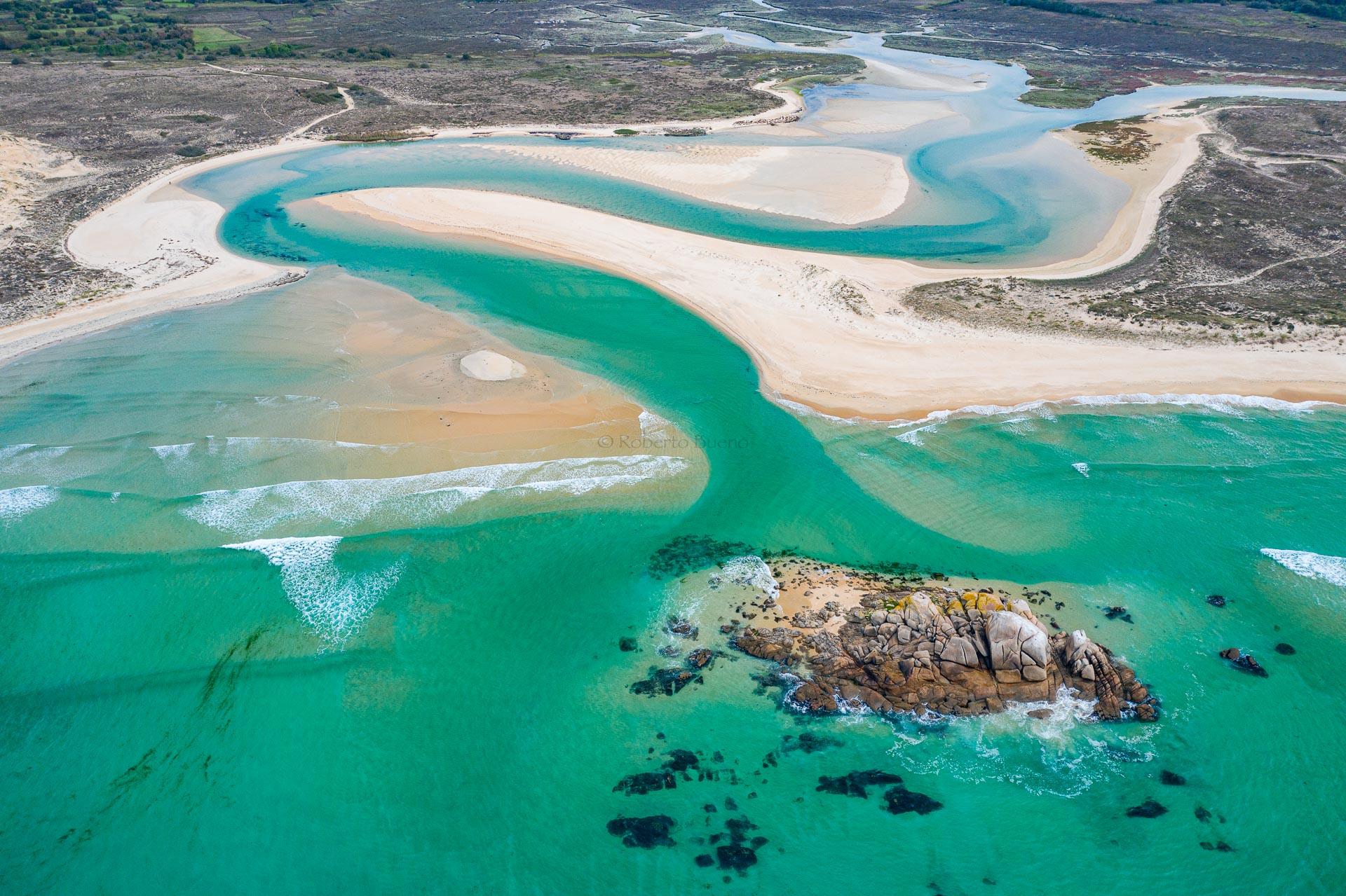 El final de un río - Desde el aire 2 - Roberto Bueno - Fotografía de Naturaleza - Luces del Planeta - Desde el aire