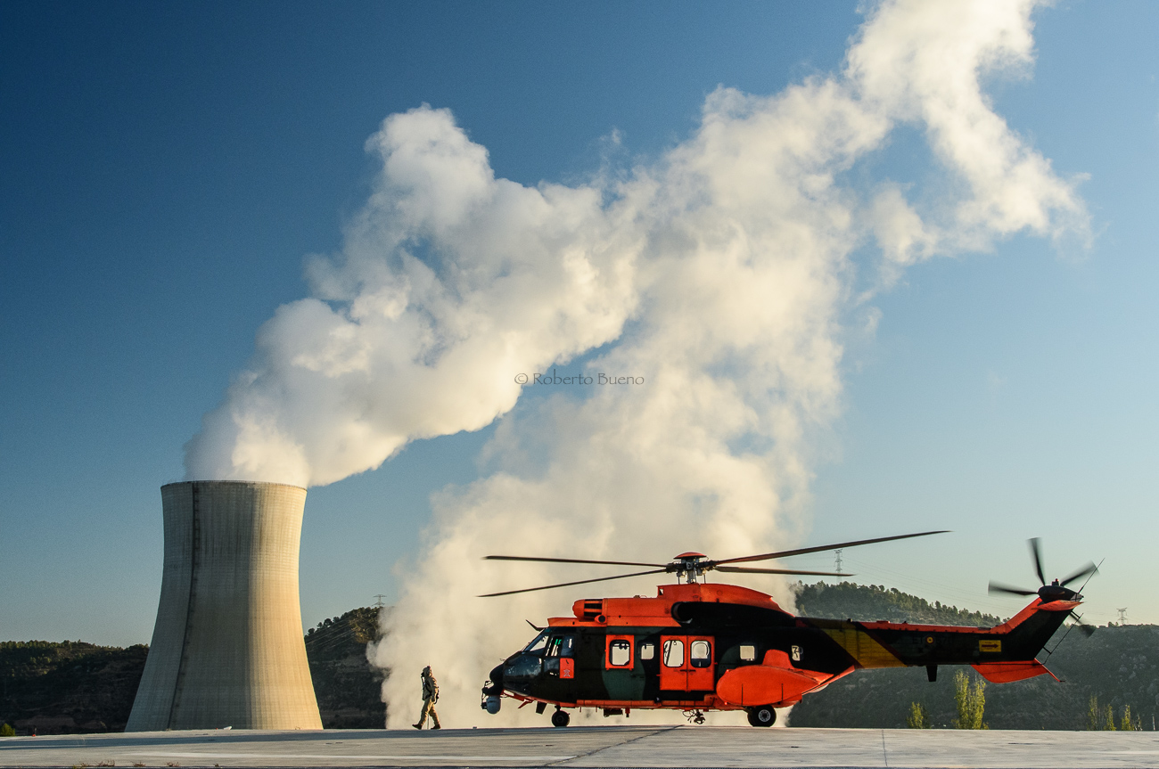 Simulacro en la Central Nuclear de Ascó - Energía Nuclear - Roberto Bueno. Energía Nuclear y Centrales Nucleares