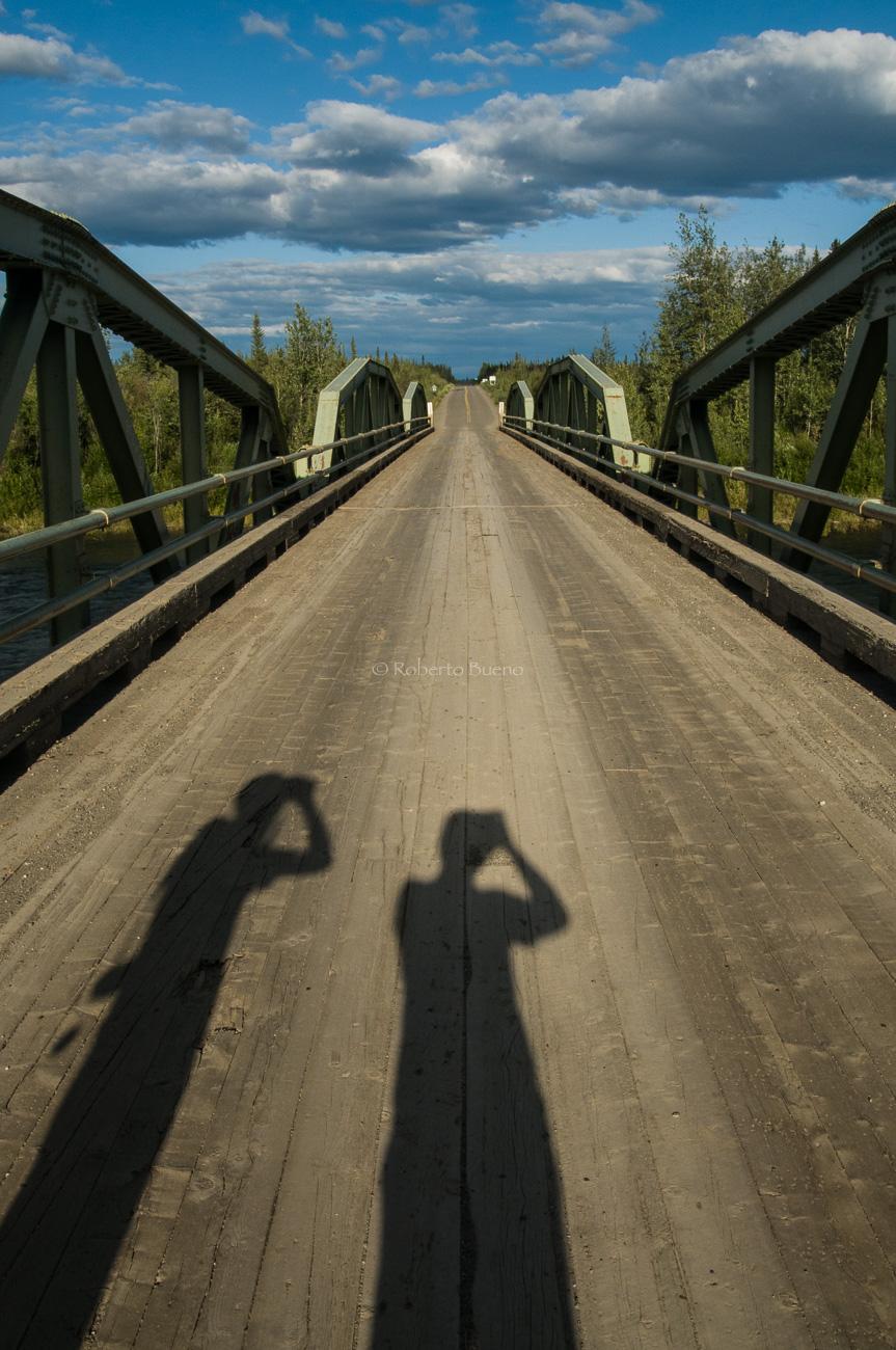 Aquí empezó todo. Dempster Highway, km. 0. Yukon - Yukon, NWT y Dempster - Roberto Bueno. Luces del Planeta. Fotografías. Yukon, Territorios del Noroeste y Dempster Highway