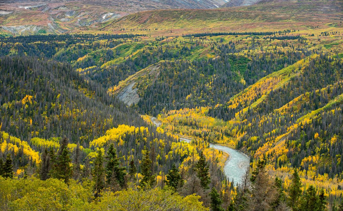 Tatshenshini River. Yukon - Yukon, NWT y Dempster - Roberto Bueno. Luces del Planeta. Fotografías. Yukon, Territorios del Noroeste y Dempster Highway