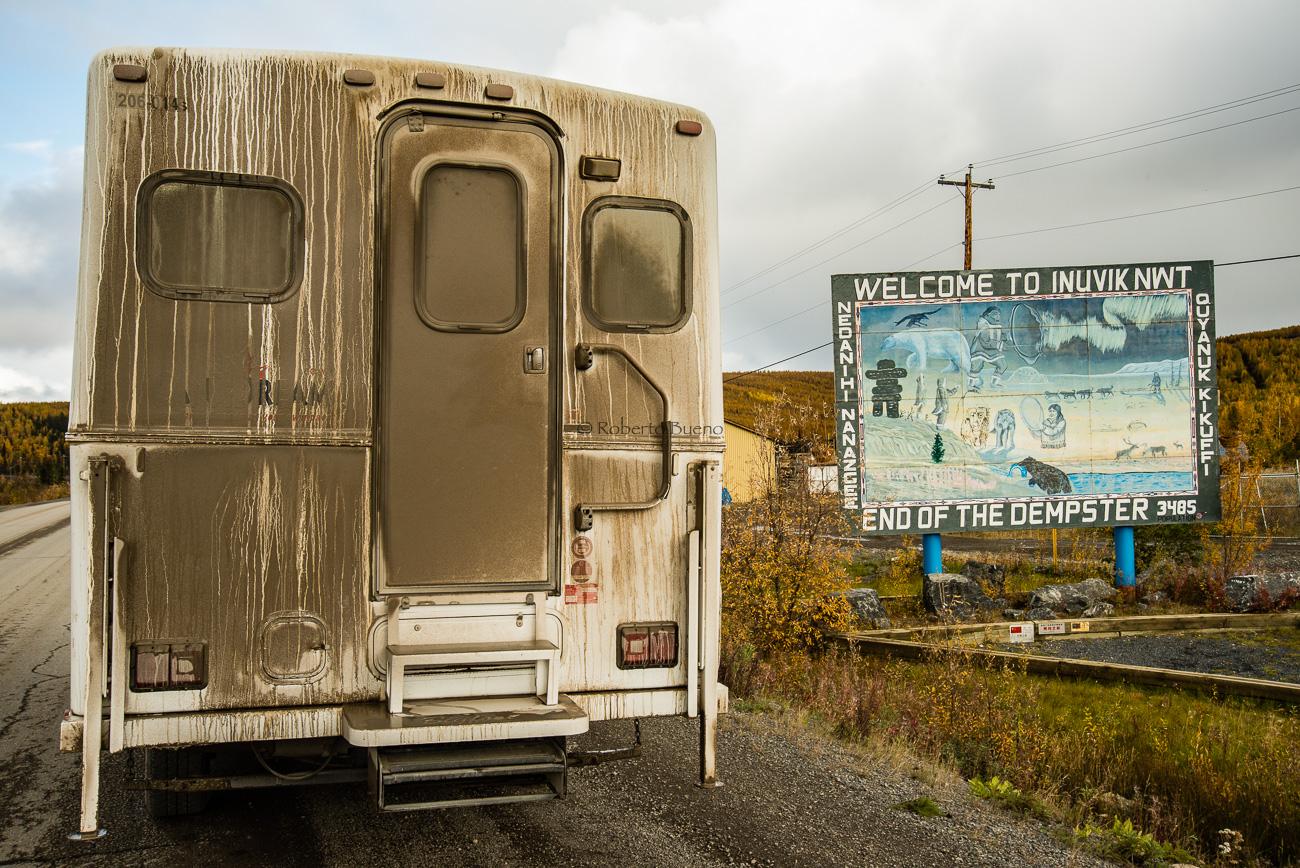 Inuvik. Al norte de la Dempster Highway. Northwest Territories - Yukon, NWT y Dempster - Roberto Bueno. Luces del Planeta. Fotografías. Yukon, Territorios del Noroeste y Dempster Highway