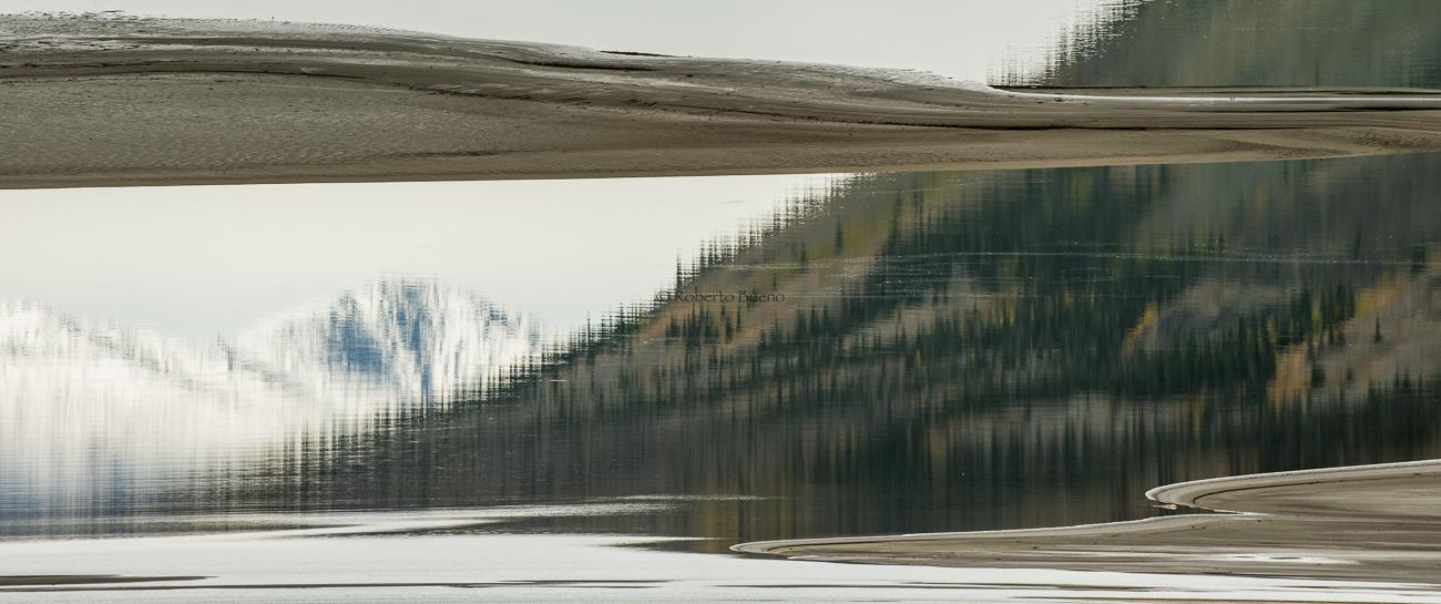 Lago Kluane. Yukon - Yukon, NWT y Dempster - Roberto Bueno. Luces del Planeta. Fotografías. Yukon, Territorios del Noroeste y Dempster Highway