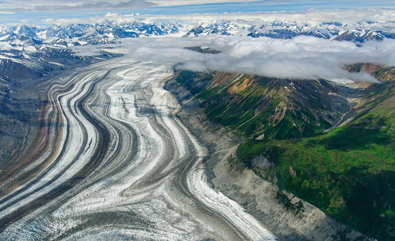 Glaciar Lowell. Parque Nacional Kluane. Yukon. Canadá - Yukon, NWT y Dempster - Roberto Bueno. Luces del Planeta. Fotografías. Yukon, Territorios del Noroeste y Dempster Highway