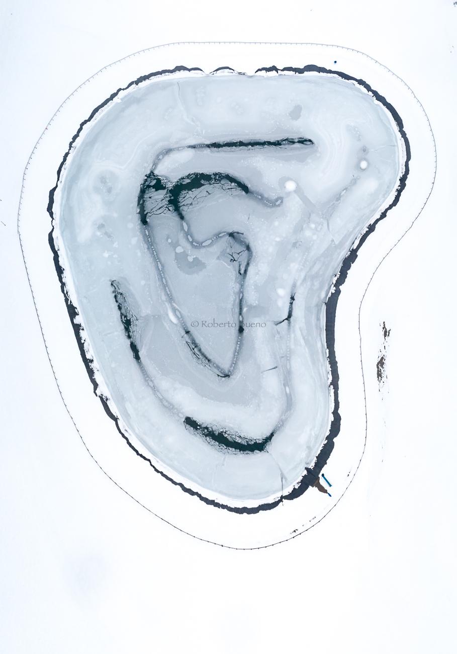 La oreja de hielo - Desde el aire 2 - Roberto Bueno - Fotografía de Naturaleza - Luces del Planeta - Desde el aire