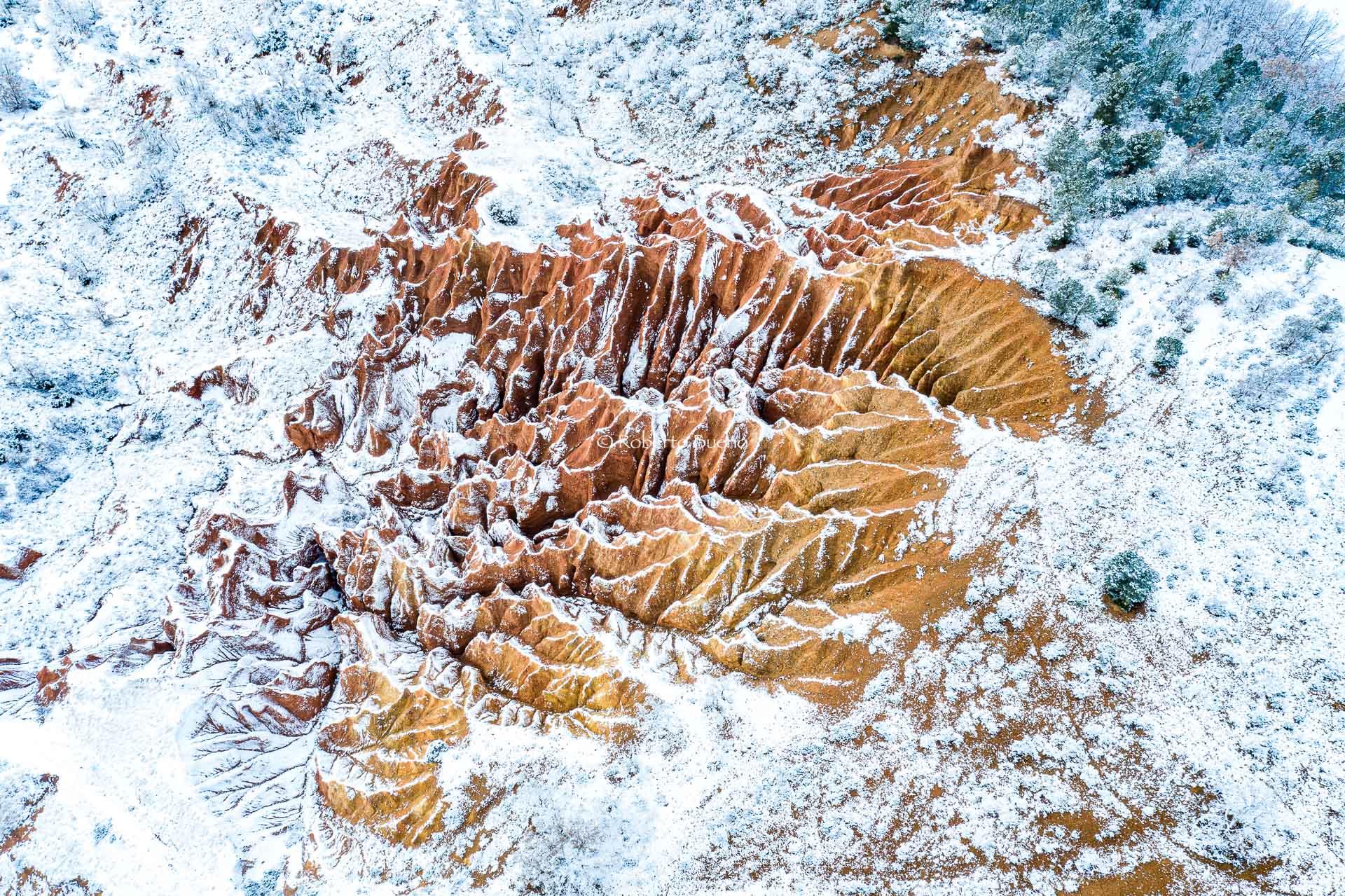 No es Bryce Canyon - Desde el aire 2 - Roberto Bueno - Fotografía de Naturaleza - Luces del Planeta - Desde el aire