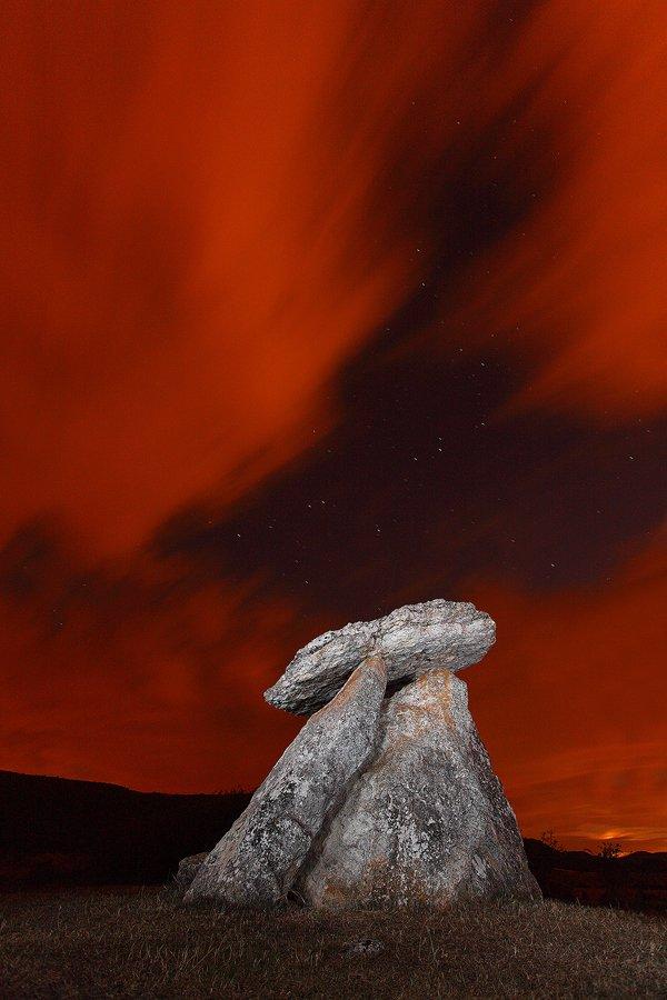 bajo las estrellas - Javier Alonso Torre Fotografia de naturaleza bajo las estrellas